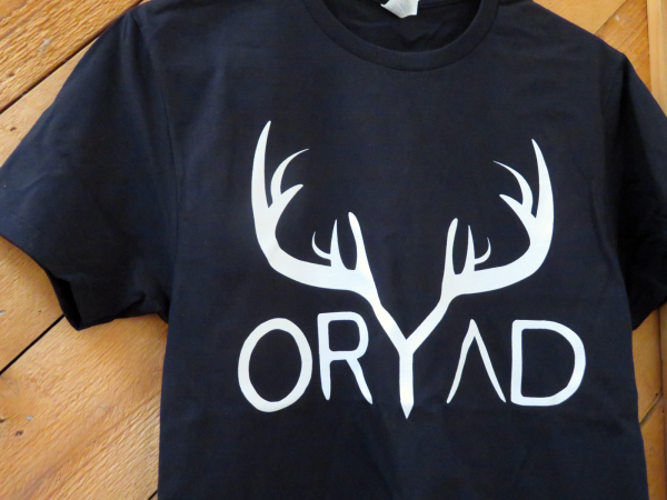 black and white oryad shirt